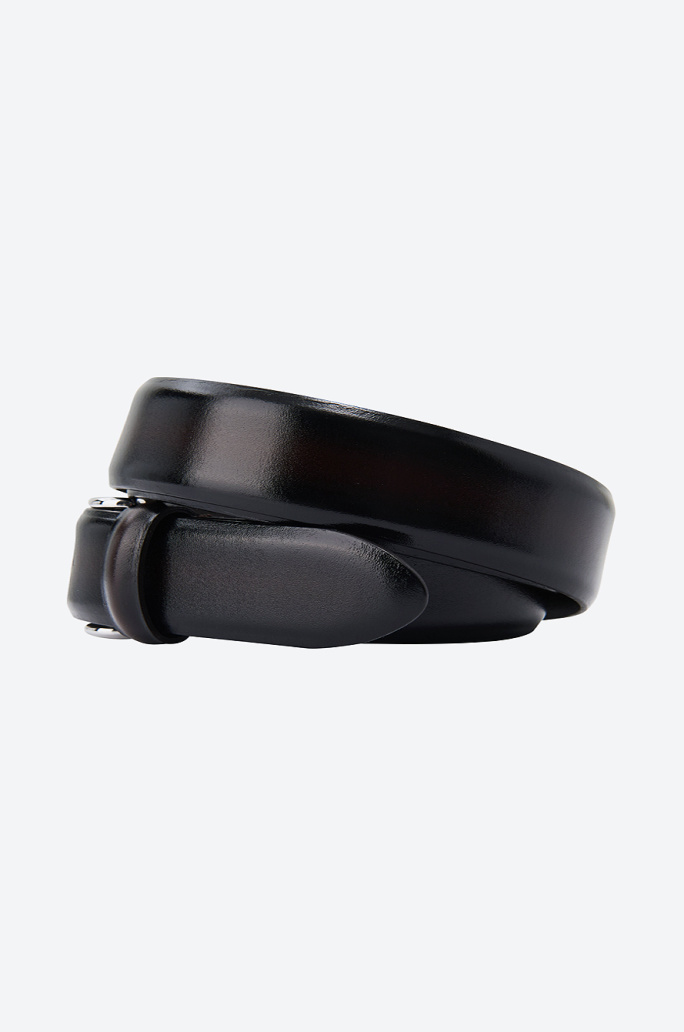 [ANDERSON'S] Gradation leather belt