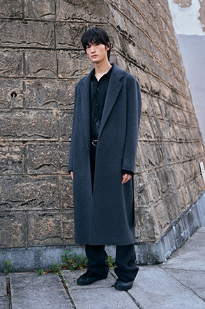 Chester belted coat