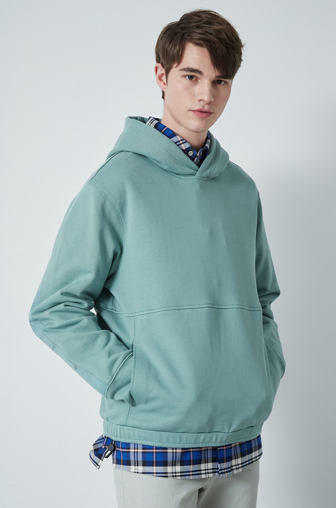 Layer hood t-shirt