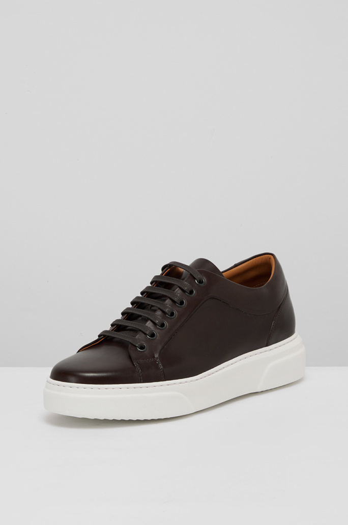 [CORSO ROMA9] Leather sneakers