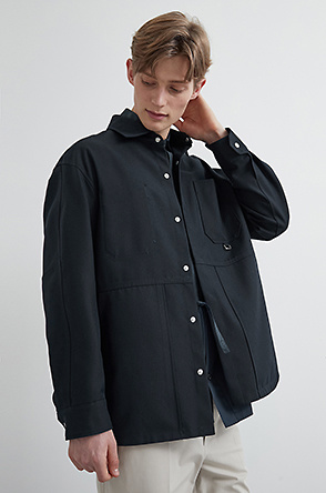 Pocket outer shirt