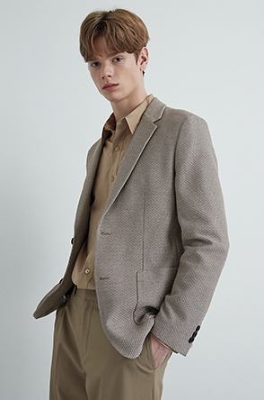 Two-tone single jacket