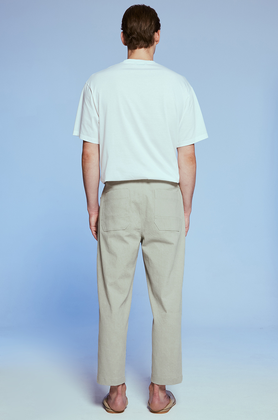 one chin tapered pants