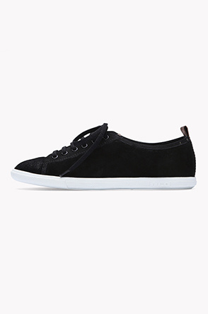 Thin sole suede sneakers