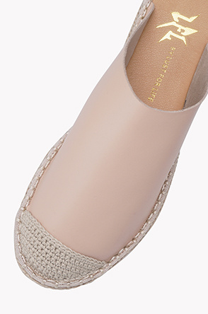Espadrille mules shoes