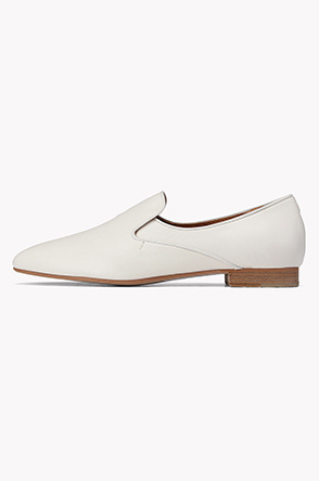 Lamb leather loafers