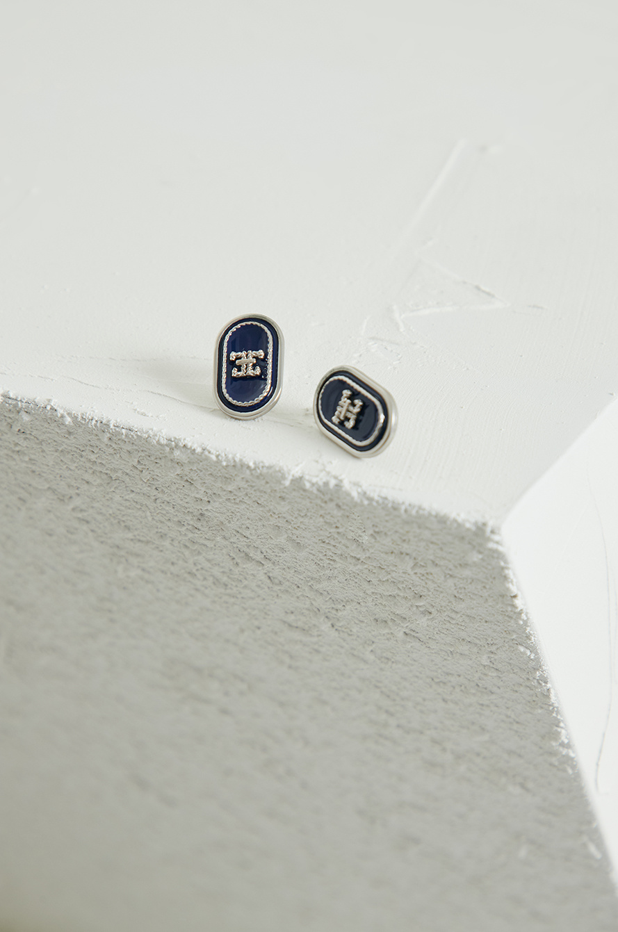 Logo earrings