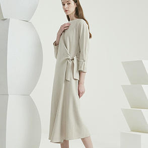 Cashmere blend strap dress