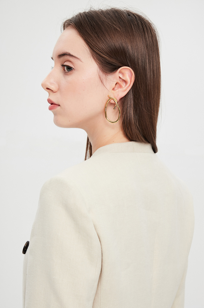 [VELATTI] Hoof earrings