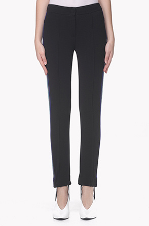 Hem band strap banding pants