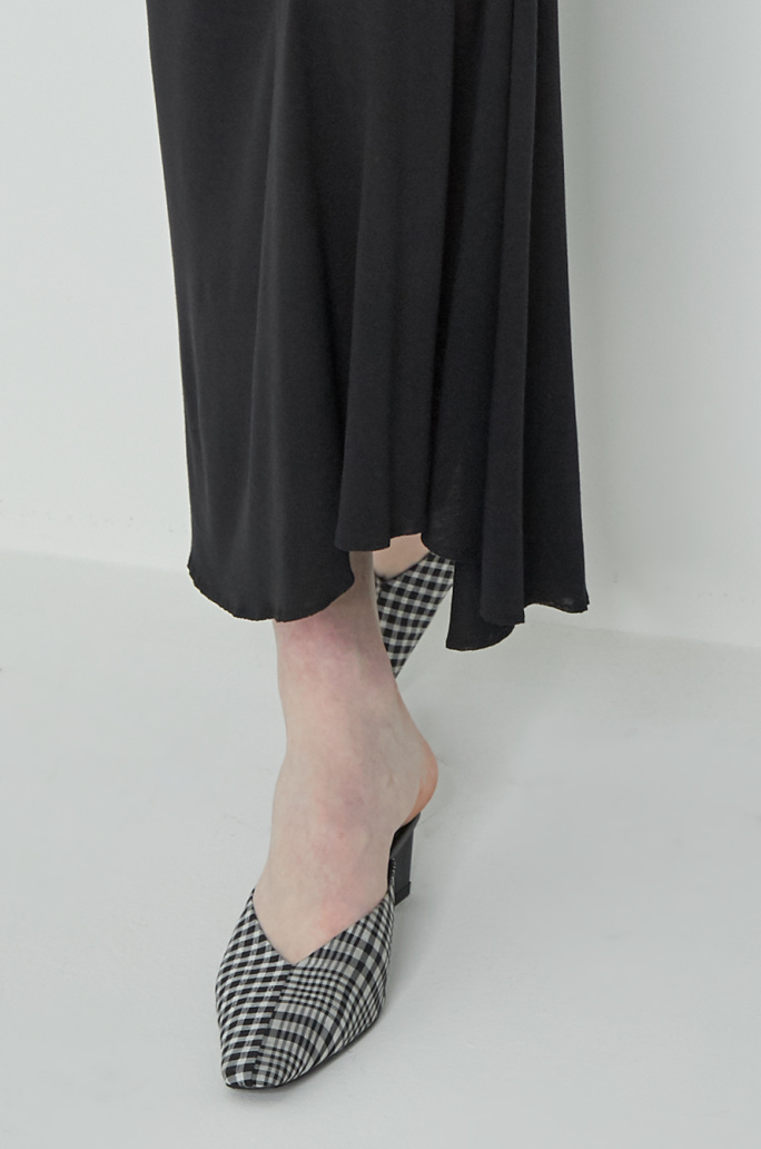 Shirring banding skirt