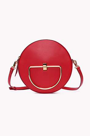 [JAMIE WANDER] Circle leather cross bag