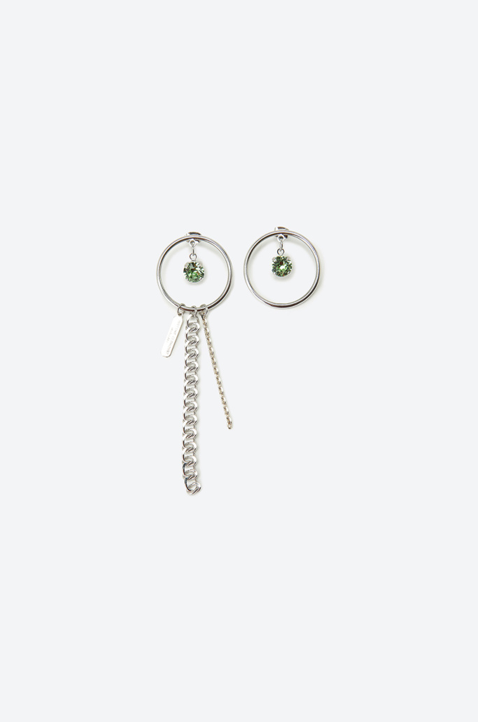 [JUSTINE CLENQUET] Brass One Earring