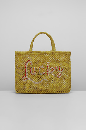 [THE JACKSONS] Lettering net bag